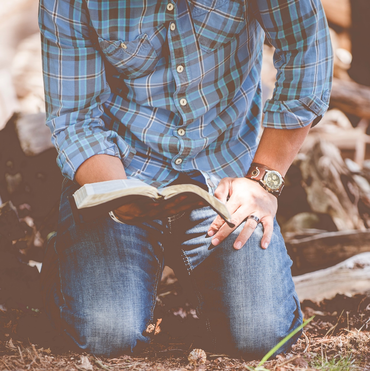 """God's Word - """"The Bible is a gold mine, waiting for someone to take out its riches.""""–Lee Robertson"""