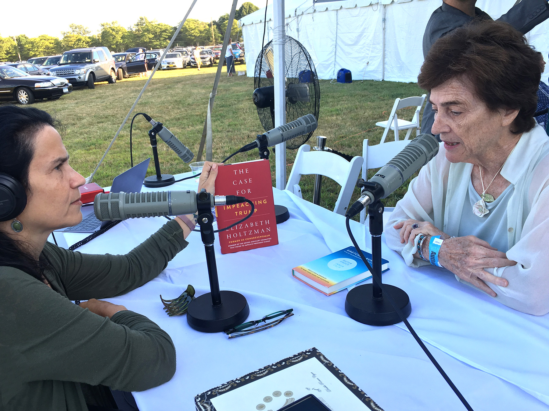 with four-term NY Democratic Congresswoman and author Elizabeth Holtzman