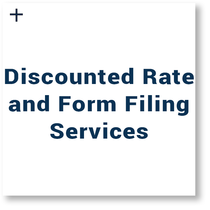 Discounted Rate and Form Filing Services