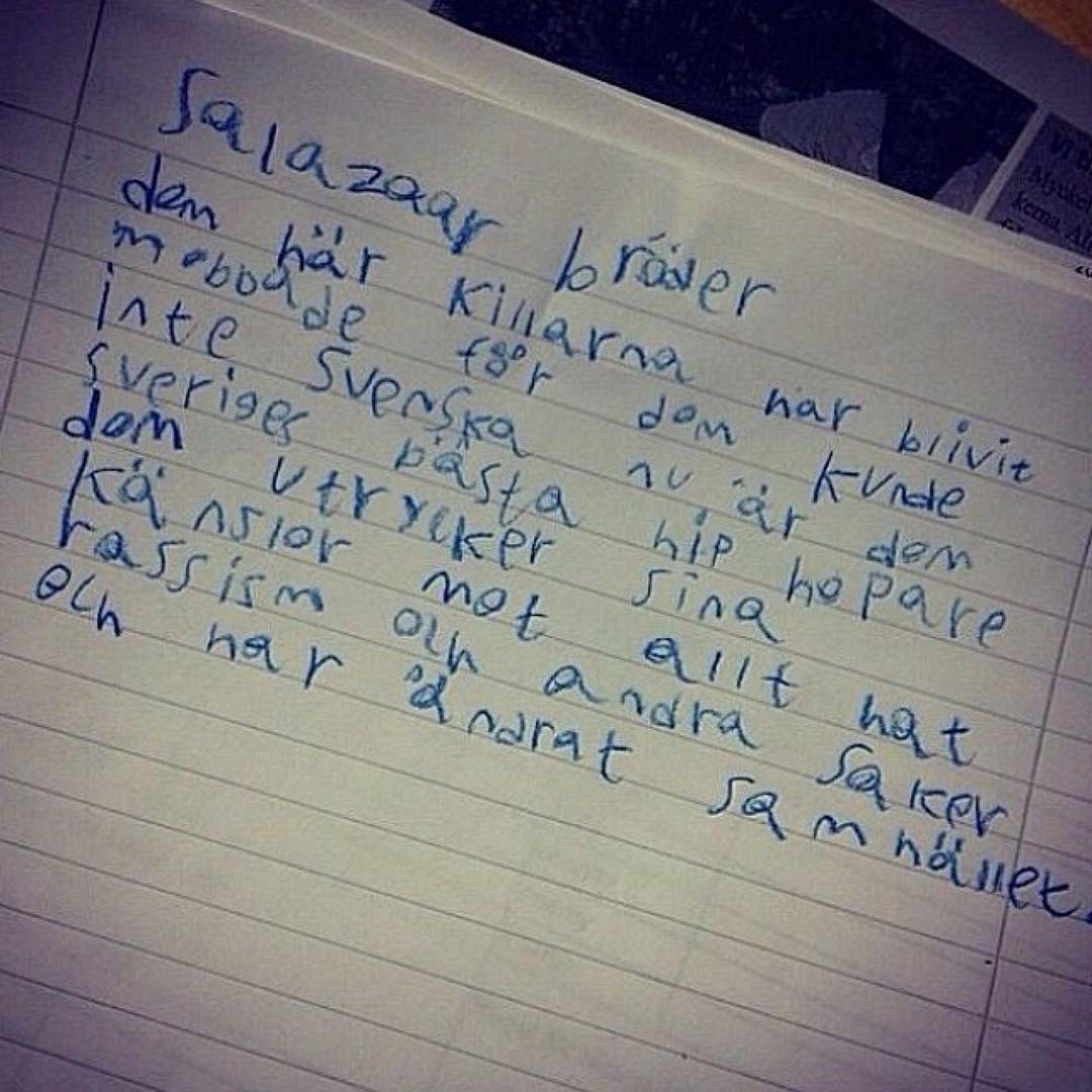 Ett brev från en ung tittare som gjorde vår dag!