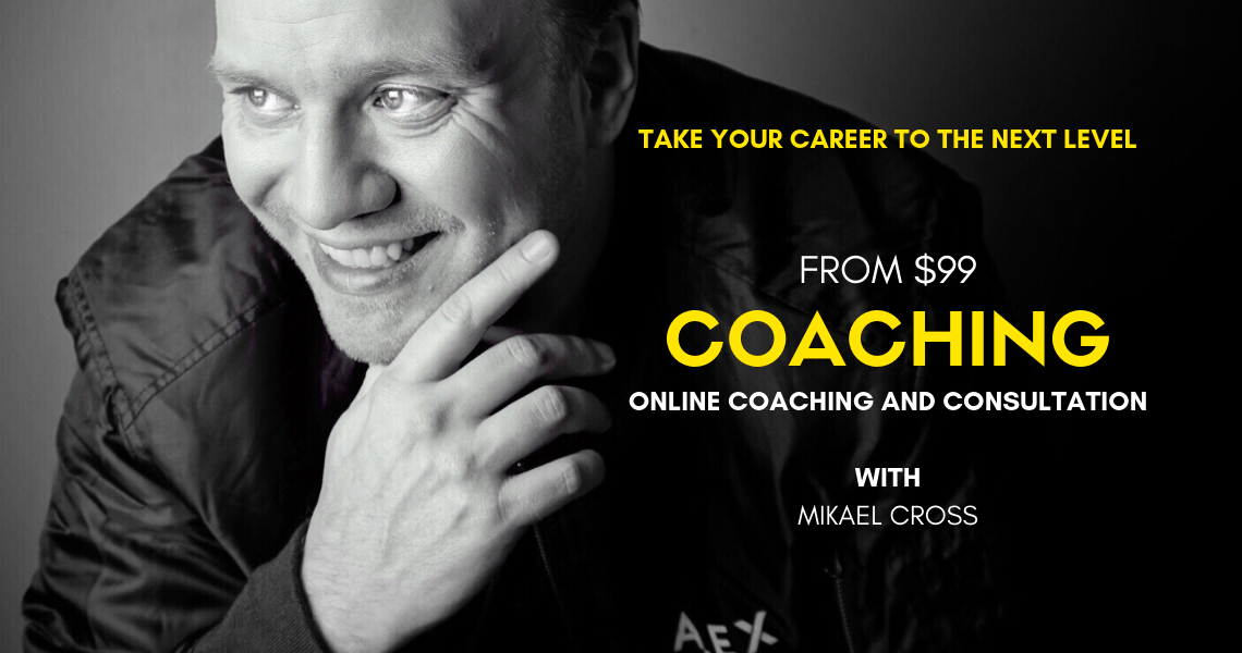 Get individual coaching sessions directly from TV show creator and concept developer Mikael Cross