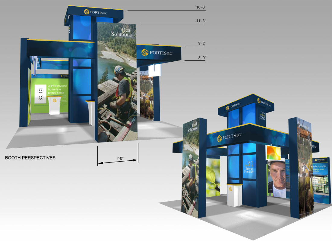 trade show booths, Point of sale displays, window vinyl -