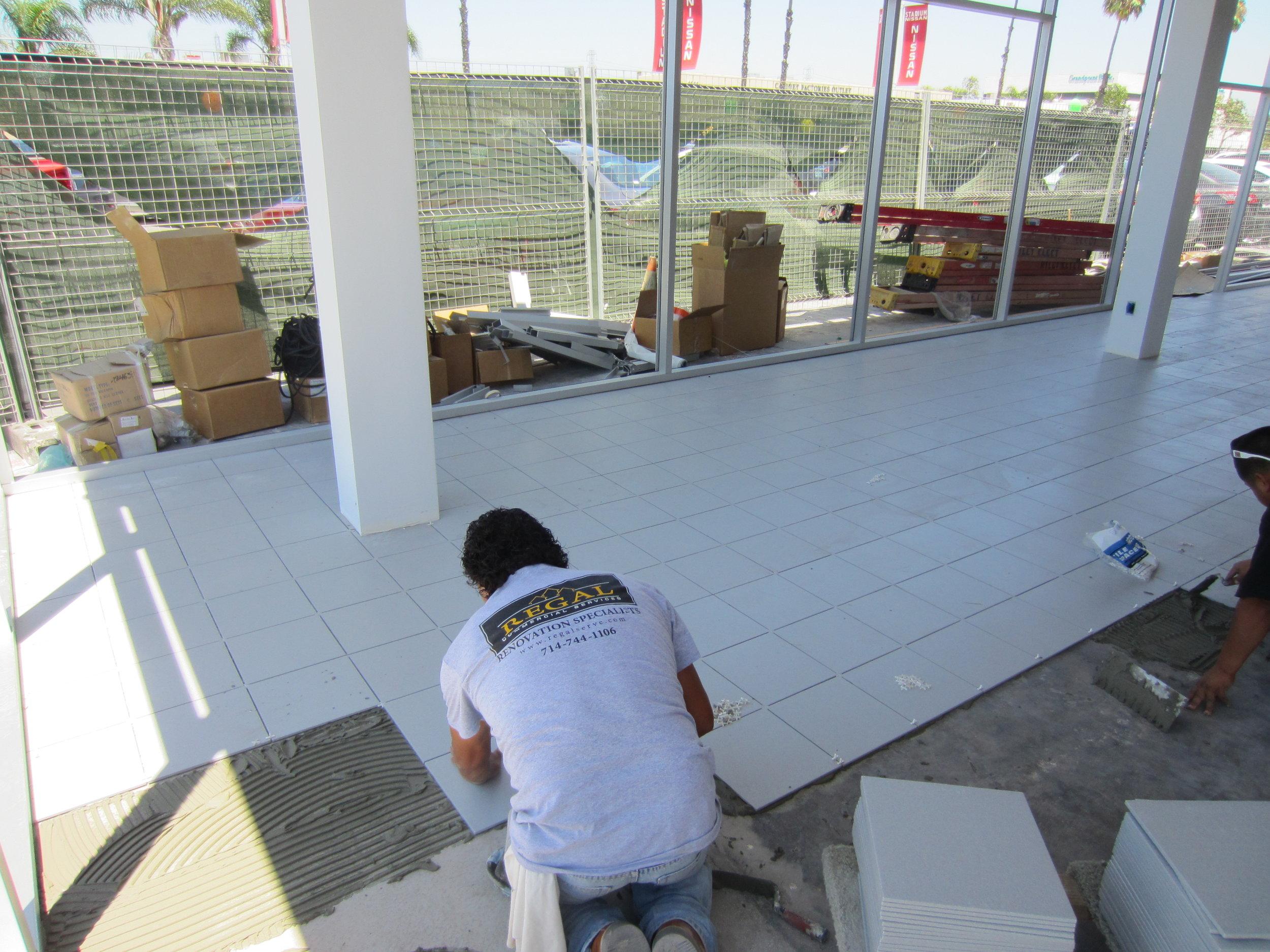 Regal commercial porcelain tile installation.jpg