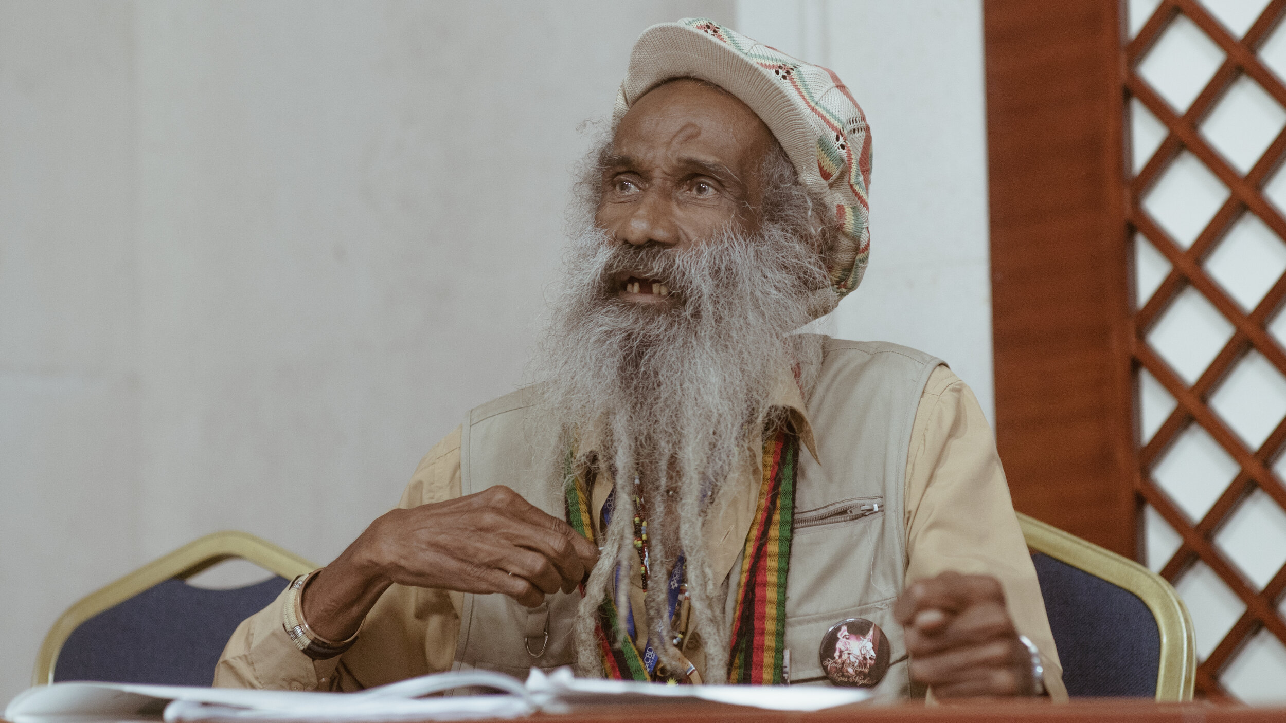 Ambassador Frank I Francis - Rastafari Food For Life