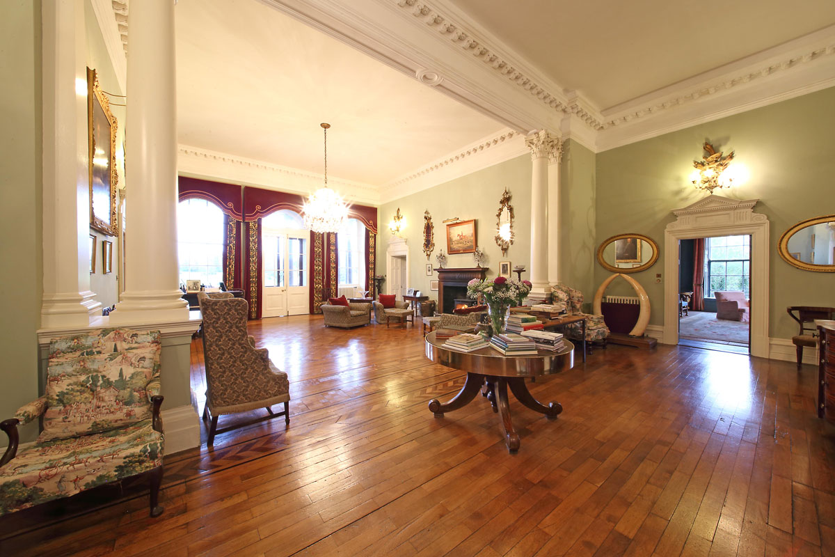 Harristown House Georgian Decor 18th Century