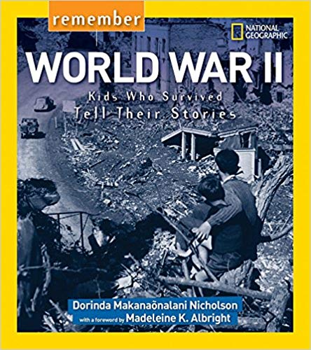 Remember World War II - Foreword by Honorable Madeleine AlbrightRemember World War II allows readers to understand the war not as seen through the eyes of soldiers, but through the eyes of children who survived the bombings, the blackouts, the hunger, the fear, and the loss of loved ones caused by the war.Notable Social Studies, National Council for the Social Studies and Children's Book Council