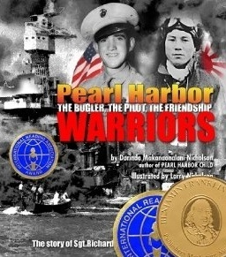 Pearl Harbor Warriors - Foreward by Daniel Martinez, lead historian of the USS Arizona Memorial, Pearl HarborPearl Harbor Warriors encapsulates a correspondence between the author and her granddaughter, recounting the story of two World War II veterans - an American Marine and a Japanese pilot - whose lives intersected in war at Pearl Harbor and again in reconciliation fifty years later.