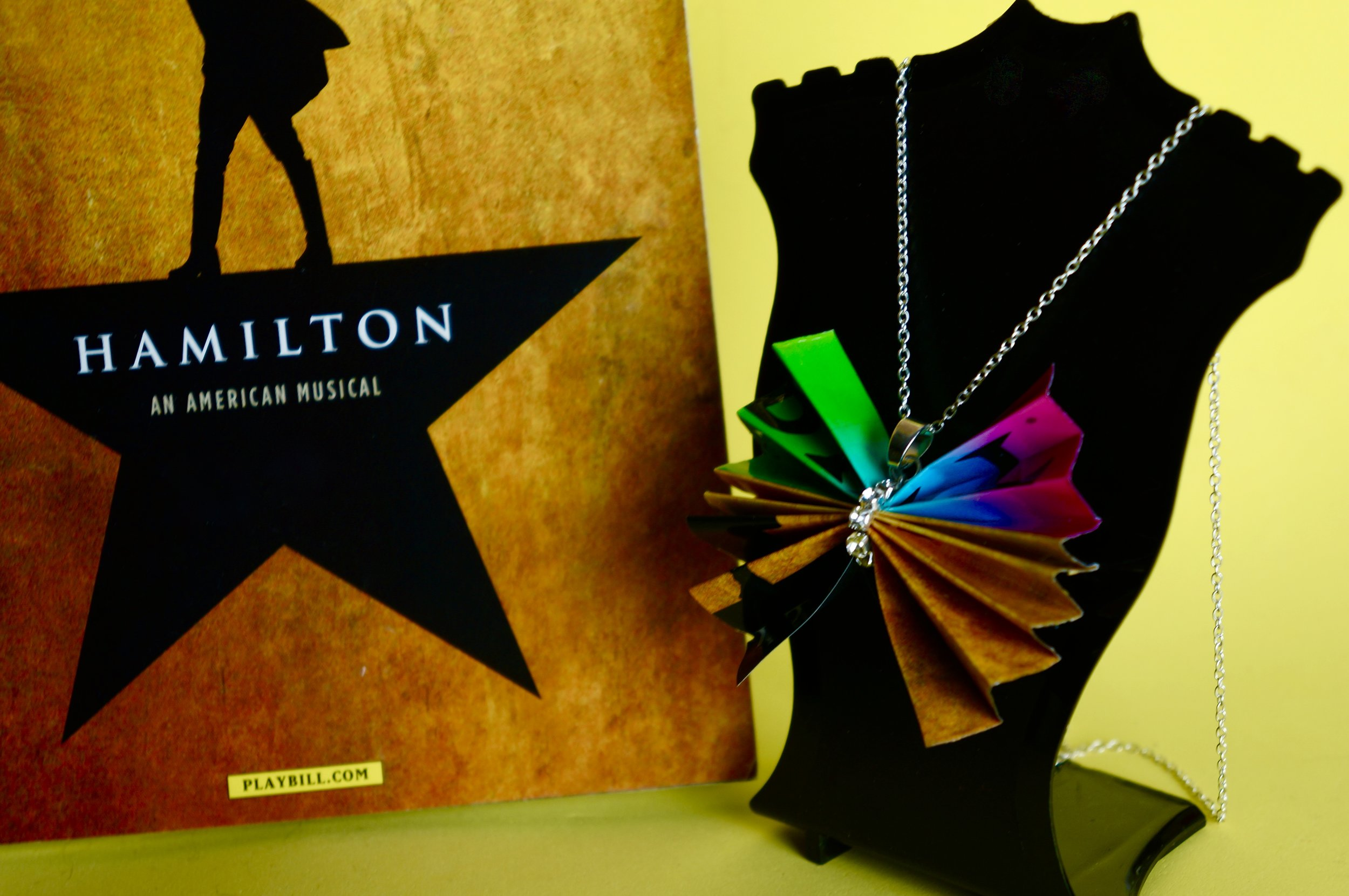 Copy of Hamilton Playbill Bows Of Broadway