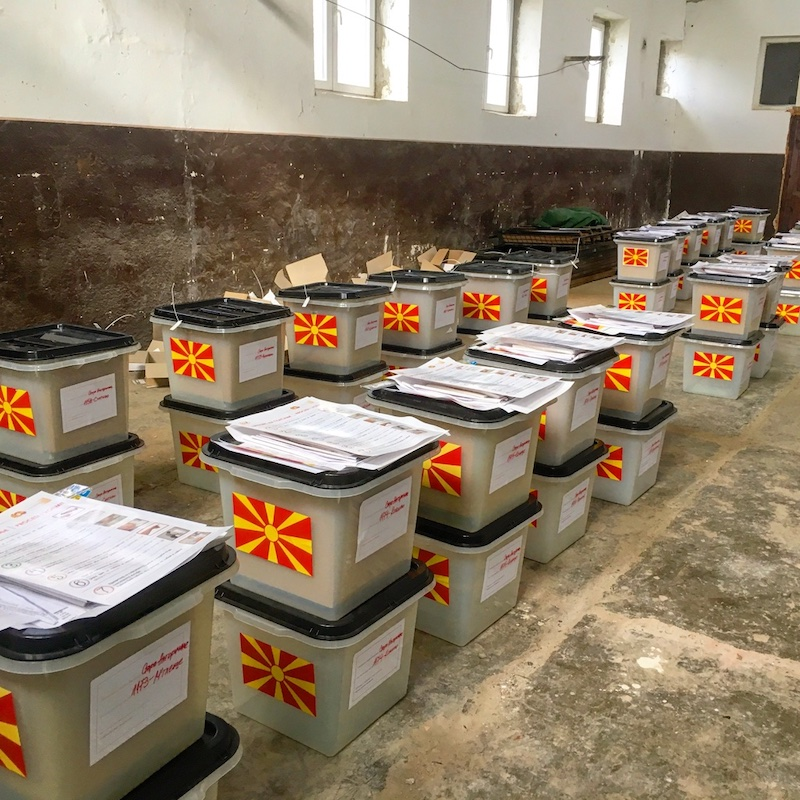 Election monitoring in Macedonia