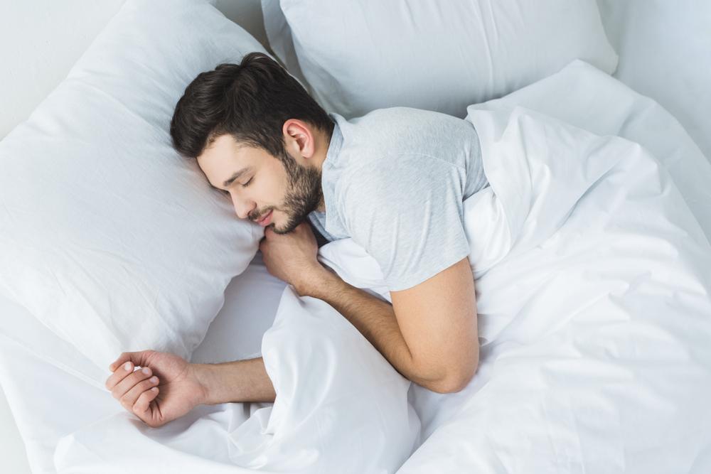 A sleeping Man