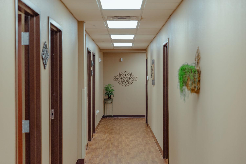 Norman hallway