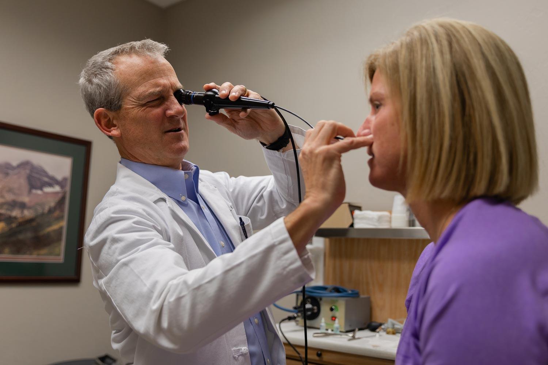 Edmond sinus inspection