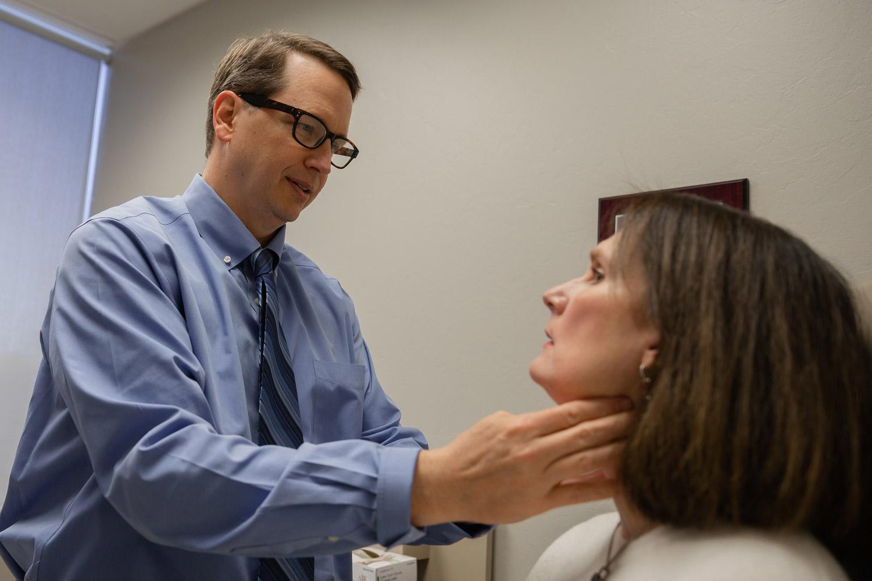 Throat inspection