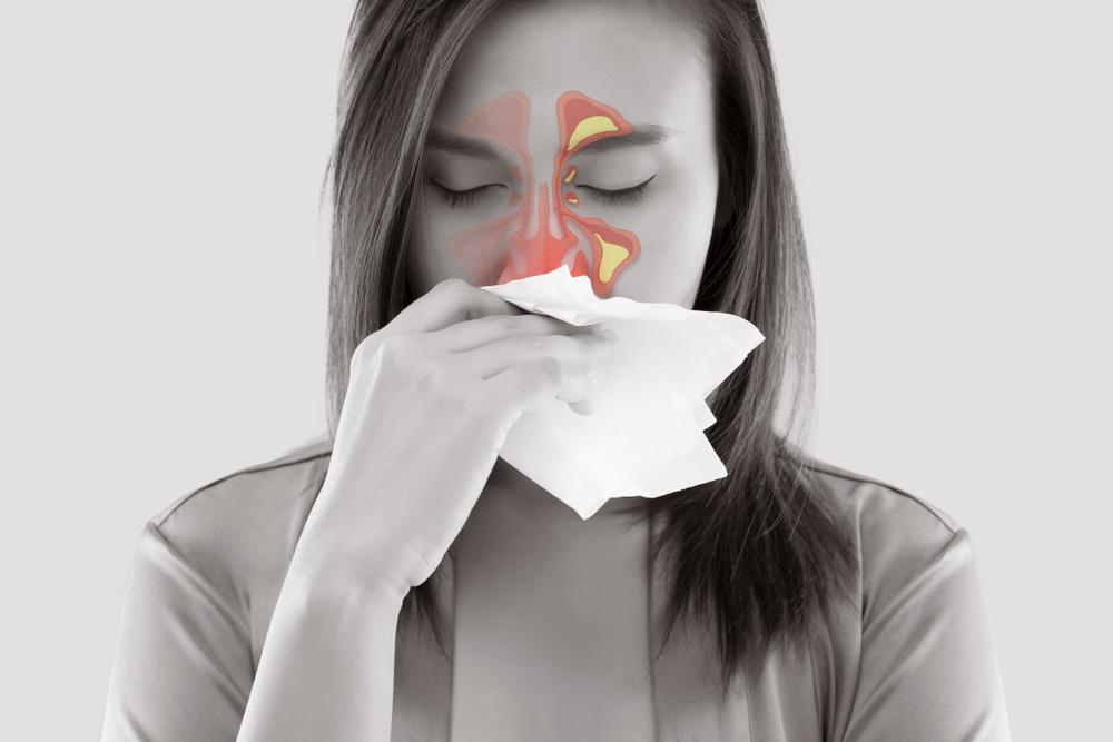 Allergic Behaviour  Concept
