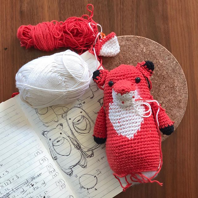 Side benefits of doing a craft fair? Having hours and hours to work on things you've been procrastinating on. Like this fox! Pattern coming soon 🦊 . . . #thewoobles #crochet #amigurumi #etsycrochet #ravelry #crocheting #kawaii #kawaiicrochet #instacrochet amigurumilove #crochetersofinstagram #craftastherapy #crochettoy #crochettoys #handmadetoy #schachenmayr #amigurumiaddict #crochetpattern #amigurumipattern #amigurumianimal #crochetlove #amigurumitoy #haken #häkeln #crochê #hekle #hækle #virka #virkkaus #ganchillo #uncinetto
