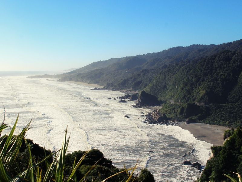 The drive down the west coast is spectacular!