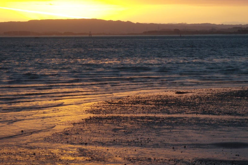 A beautiful sunset in Whangarei Heads. It's well worth a trip up here.