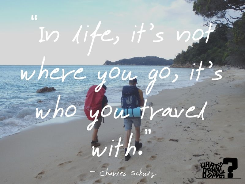 There's little more romantic than travelling as a couple. I hope you enjoy these romantic couple travel together quotes.