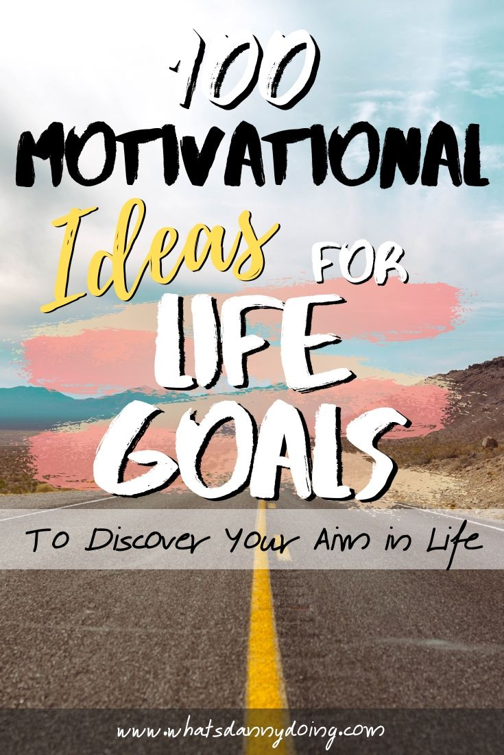 Like this piece full of ideas for life goals? Pin it!
