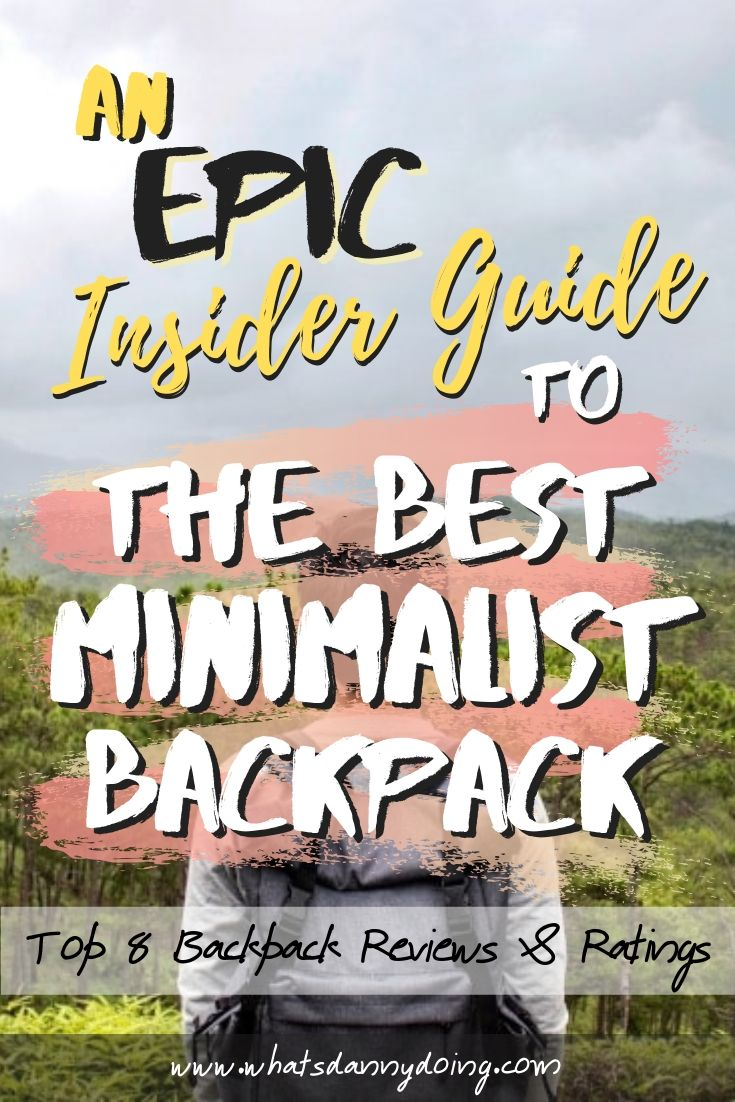Like this piece full of urban backpack reviews? Pin it!