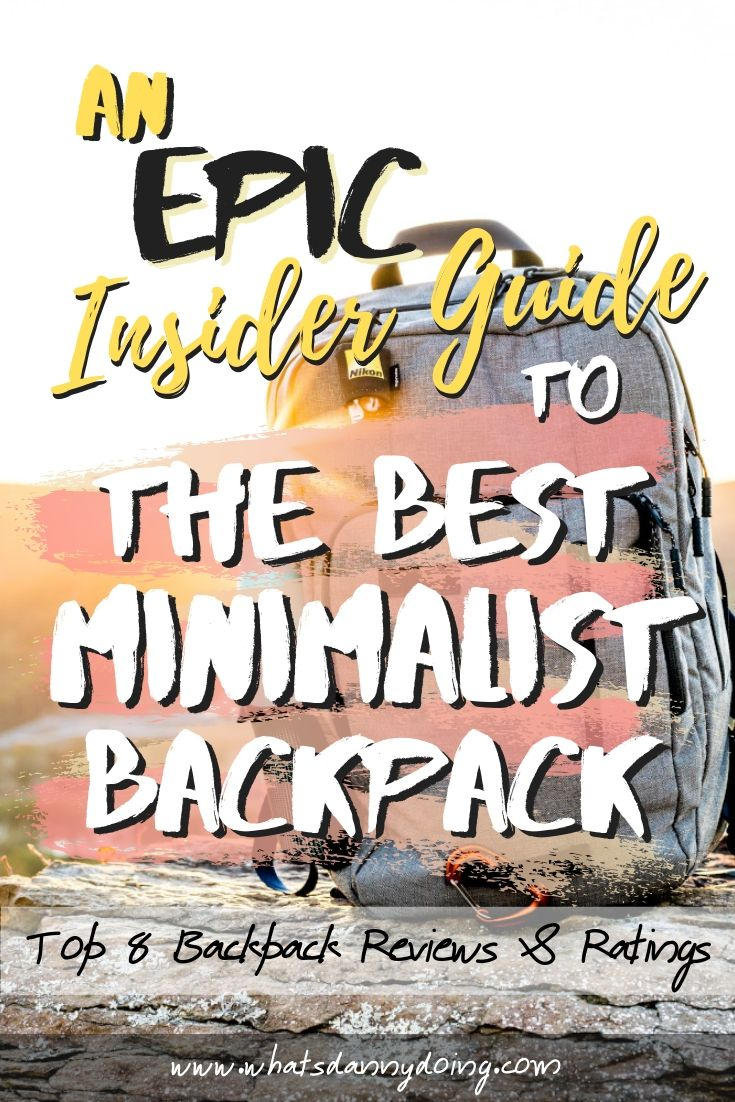 Pin this post to show others the best minimal backpacks!