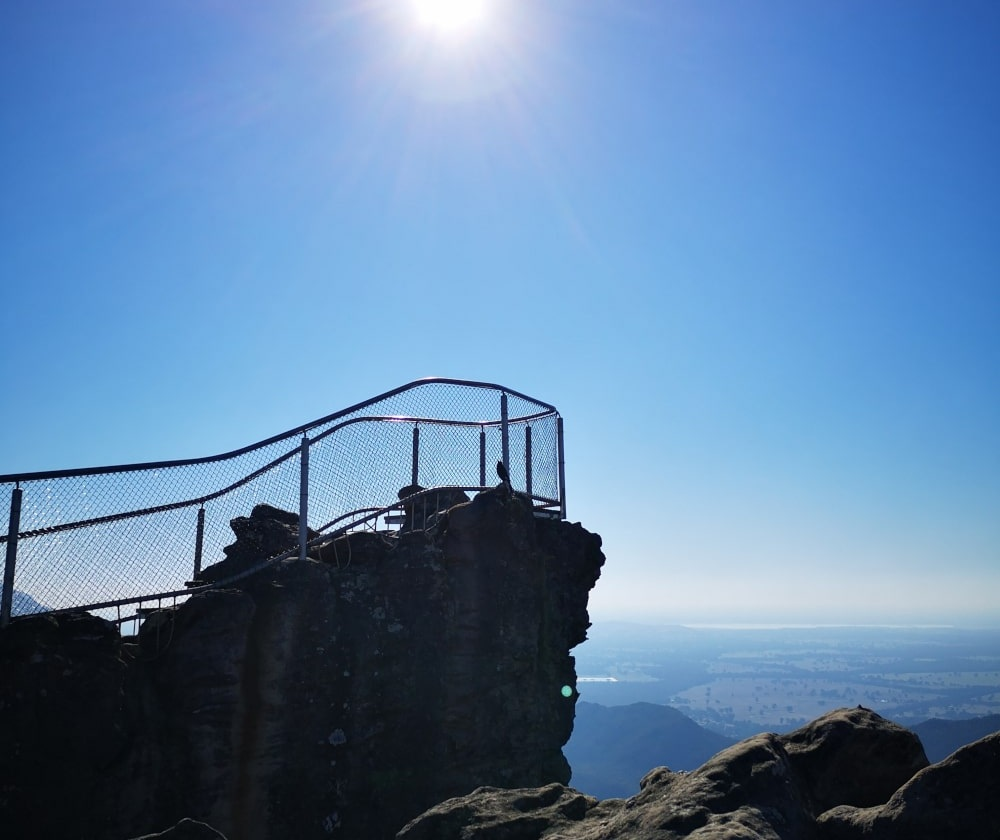 Another picture of the Pinnacles lookout. As you can see, the views from the top are absolutely insane!