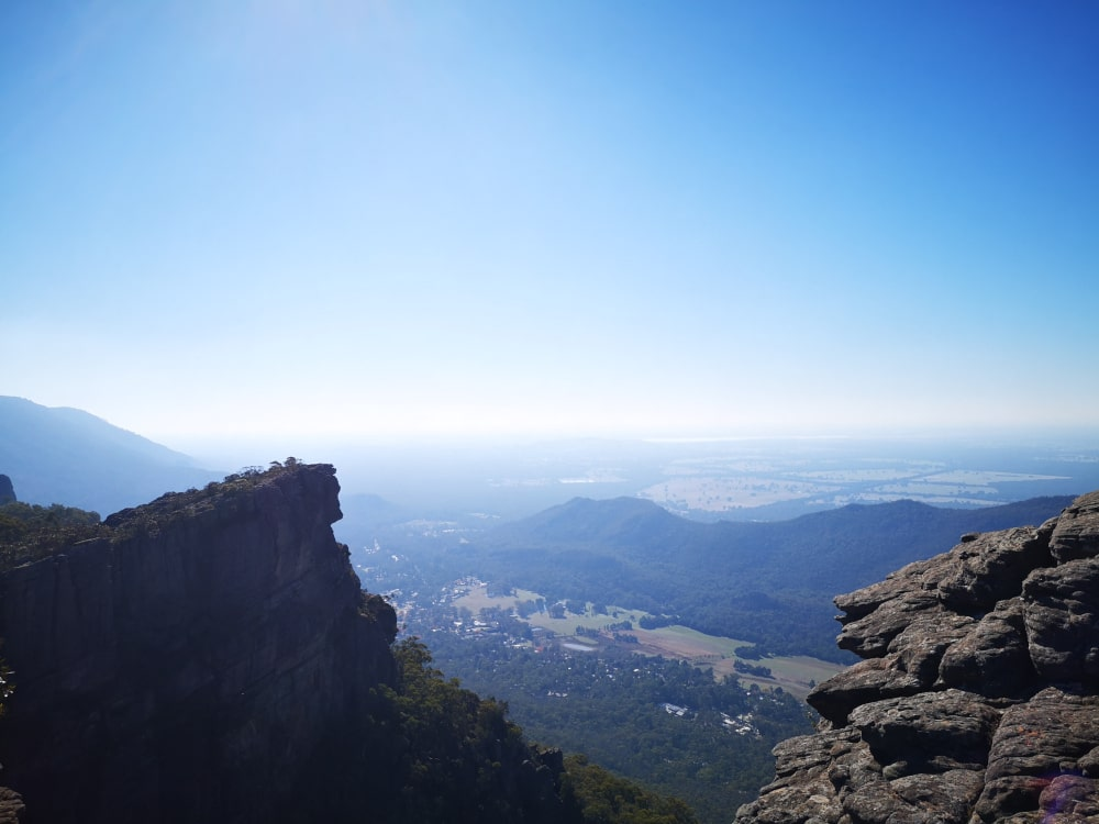 An epic view over the Grampians! This isn't actually from the Balconies lookout, but it shows the beauty on offer here.