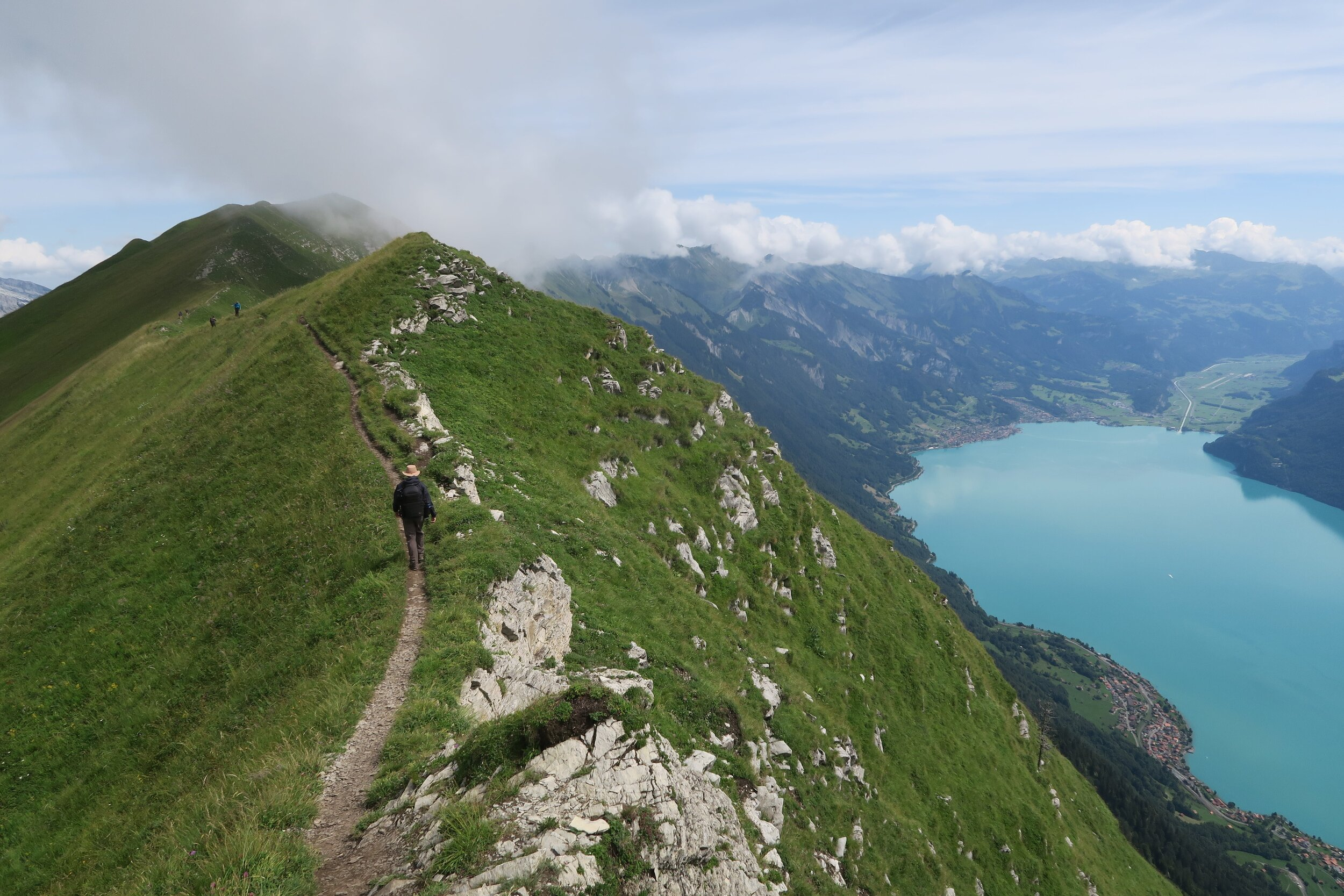 The Hardegrat Trail in Switzerland is one of the best hikes in Europe. Look at those views!