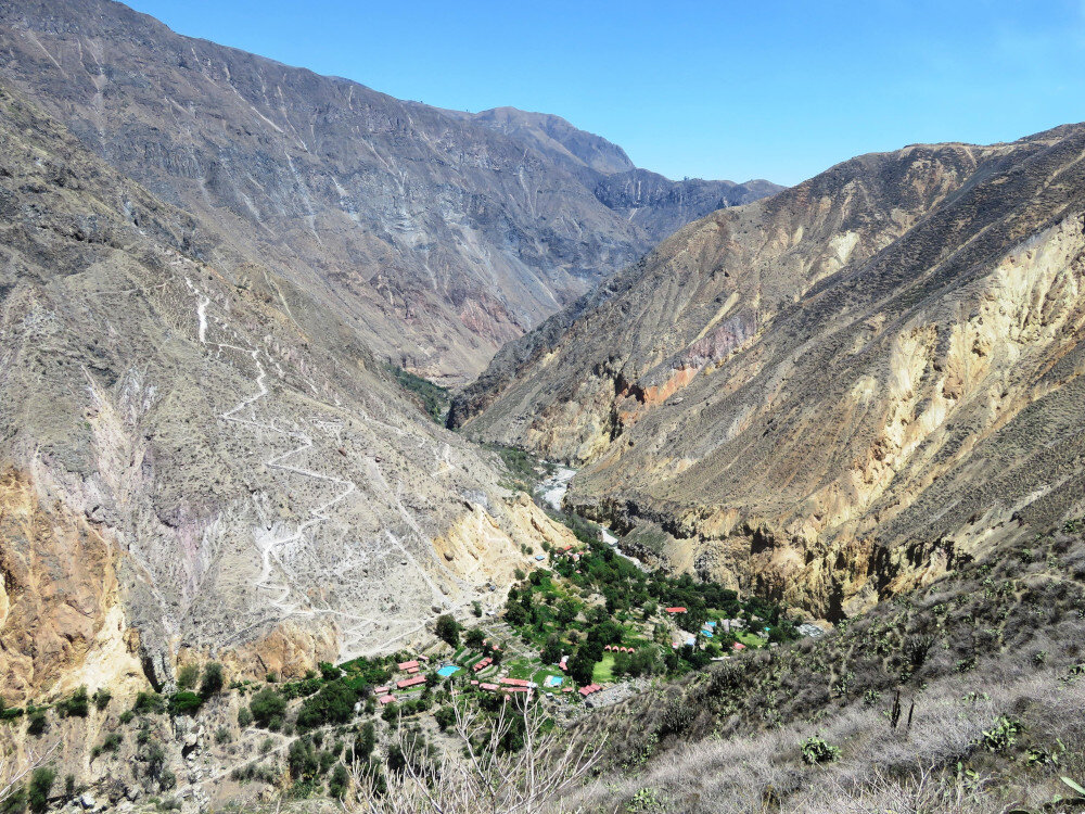 I've literally never been anywhere like Colca Canyon in my life! Walking to an oasis in the middle of such an arid landscape must be incredible.