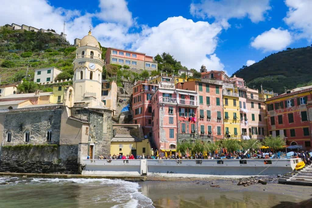 One of the stunning little towns along the well-trodden Cinque Terre- one of the best hikes in Europe!
