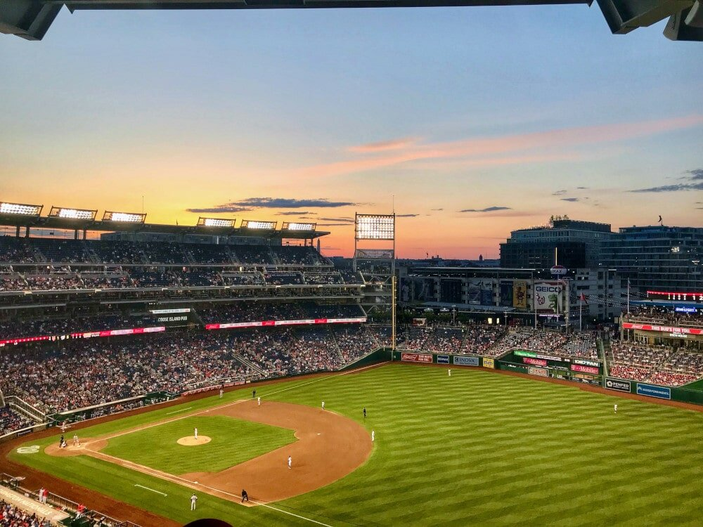 Love your sport? Don't miss a baseball game at Nationals Park.