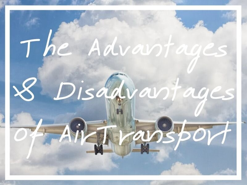 Keep reading for all of the advantages and disadvantages of air transport to think about before booking you flights!