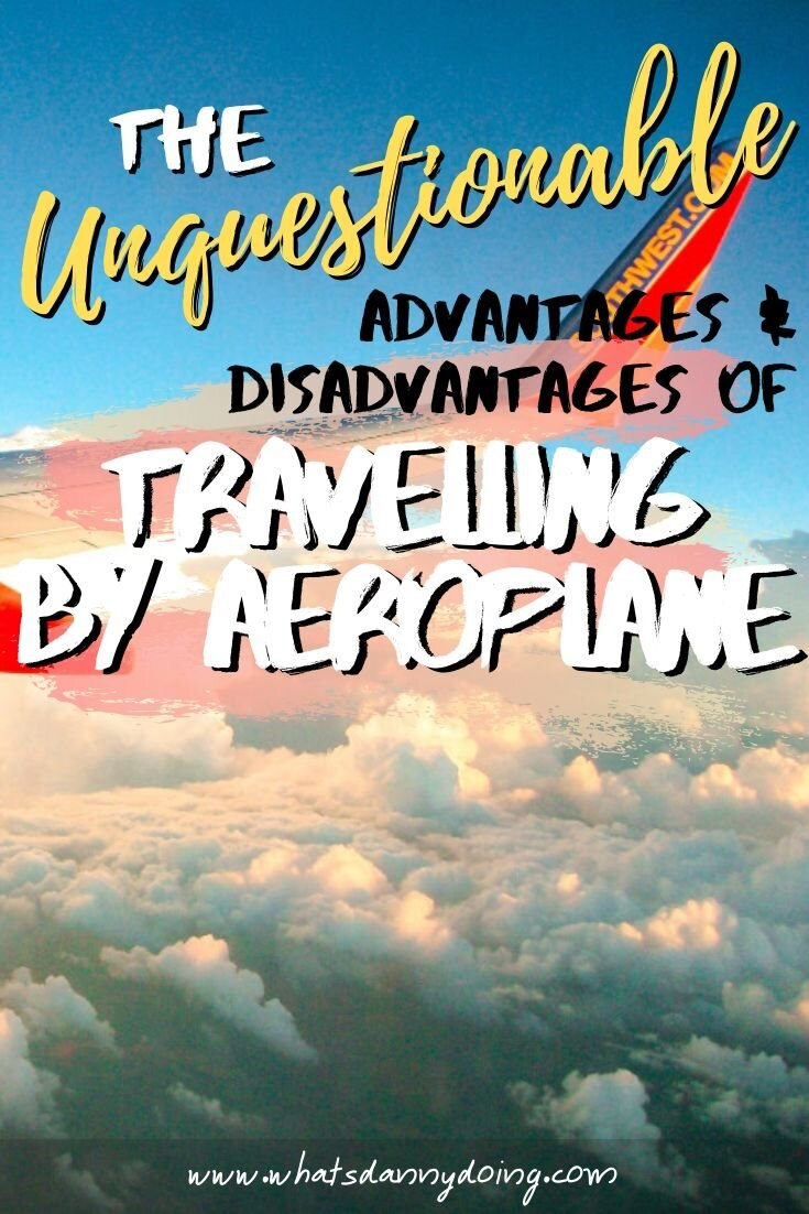 Share these pros of airplanes (and the cons) with others! Give it a pin!
