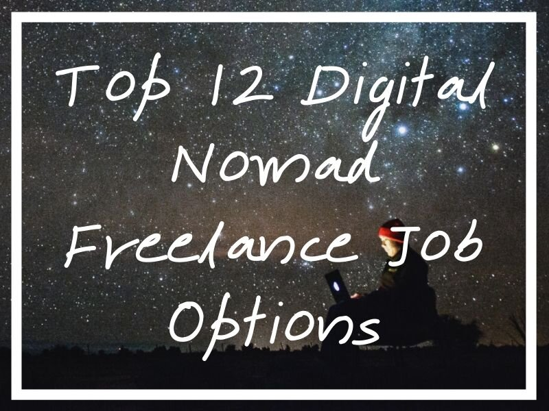 I hope these 10 digital nomad freelance job options will help you figure out a route into this lifestyle!