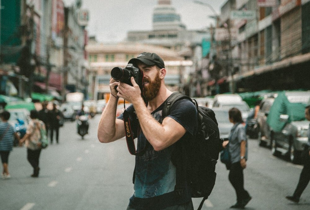 If you've got a knack with a camera, then consider selling your photographs or photography services as a route into digital nomad work.