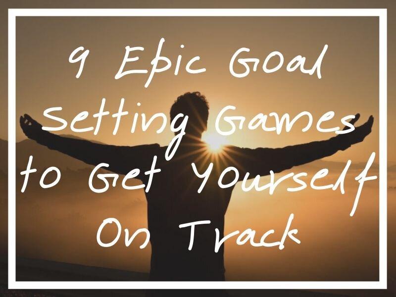 I hope these goal setting games will help out anyone looking to set their goals to a better life.