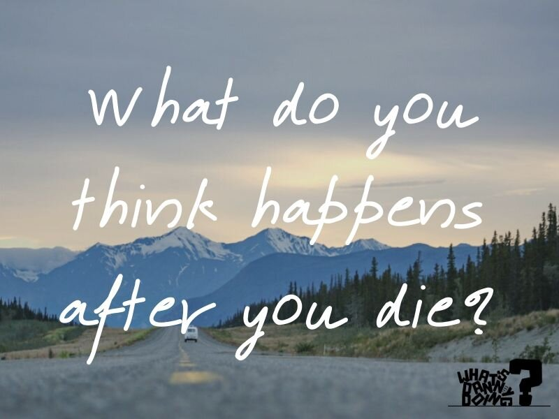 I'm all for fun! But, sometimes, the best questions for a road trip are more deep and meaningful- like this one!