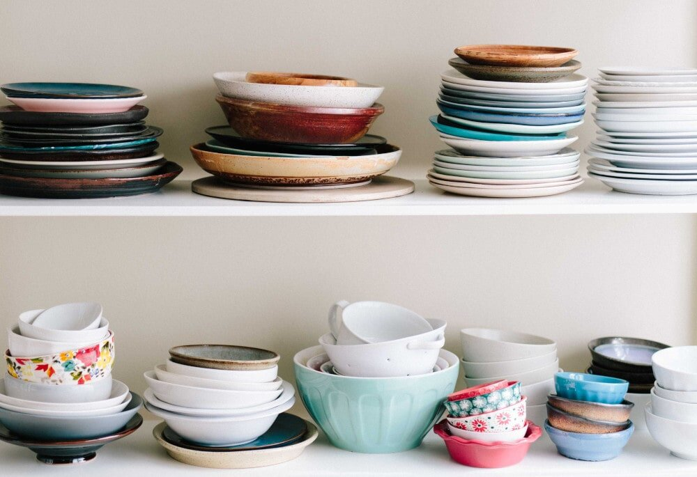 You can guarantee an odd supply of crockery in hostel kitchens; they'll often need a wash before you use them too…