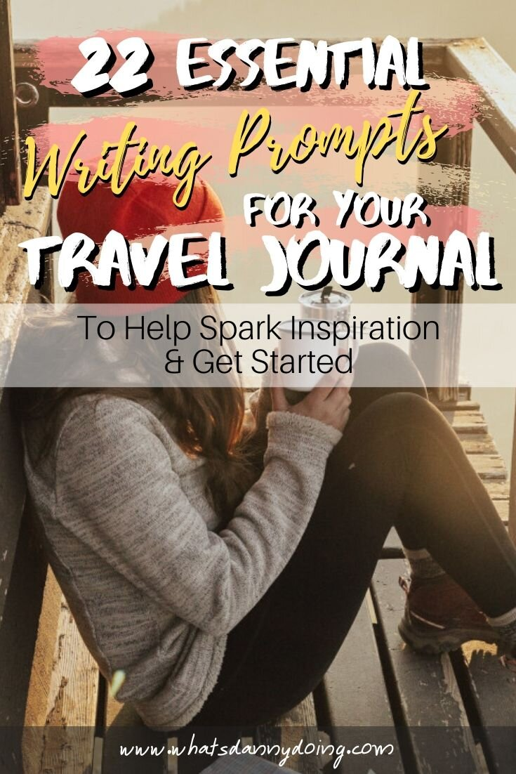 Like this post about travel journal writing prompts? Give it a pin!