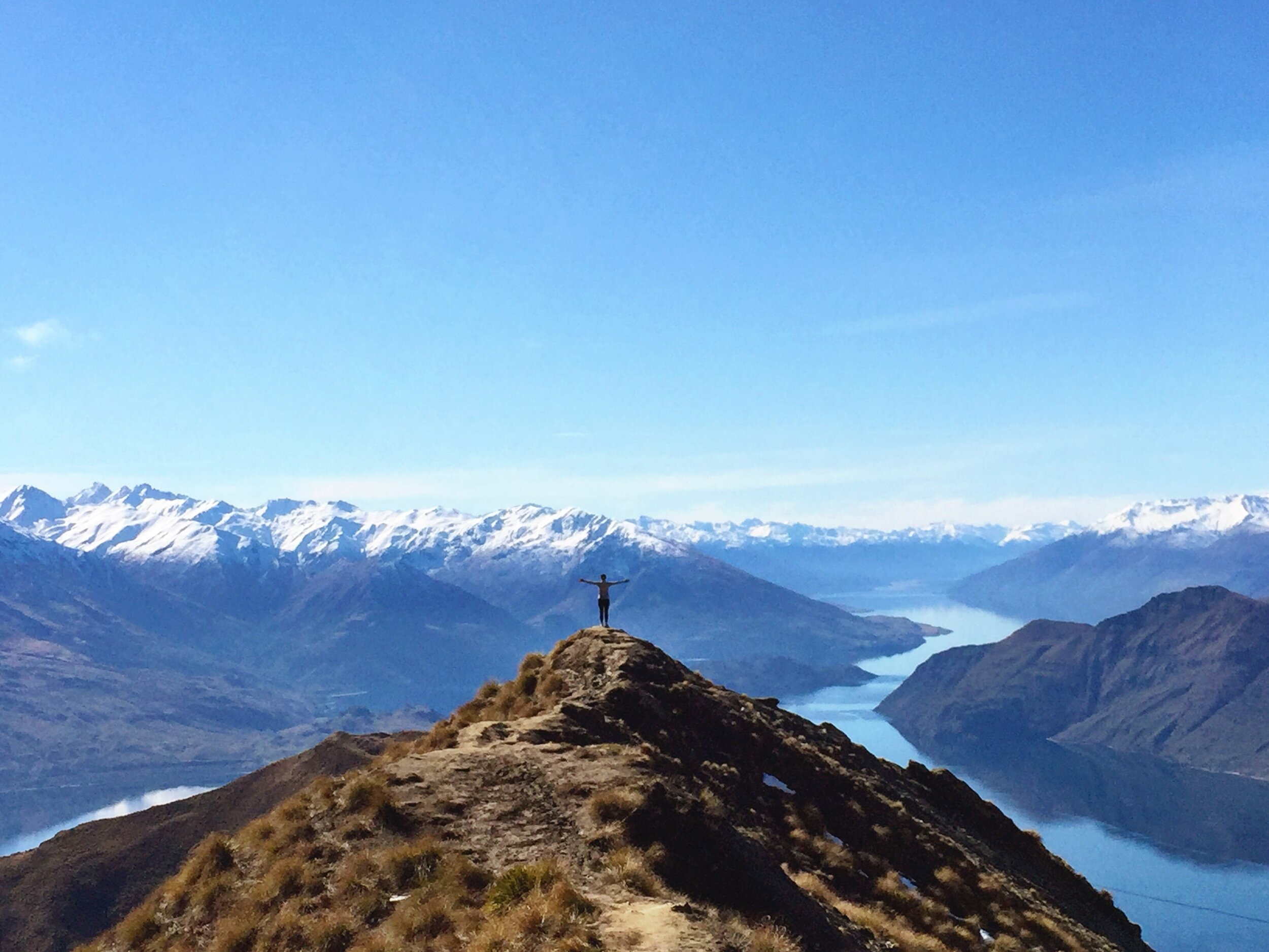 Grabbing yourself a pair of hiking and camping boots will help take you to views like this over Lake Wanaka, New Zealand! Let's start by going through the best cheap hiking boots for men.