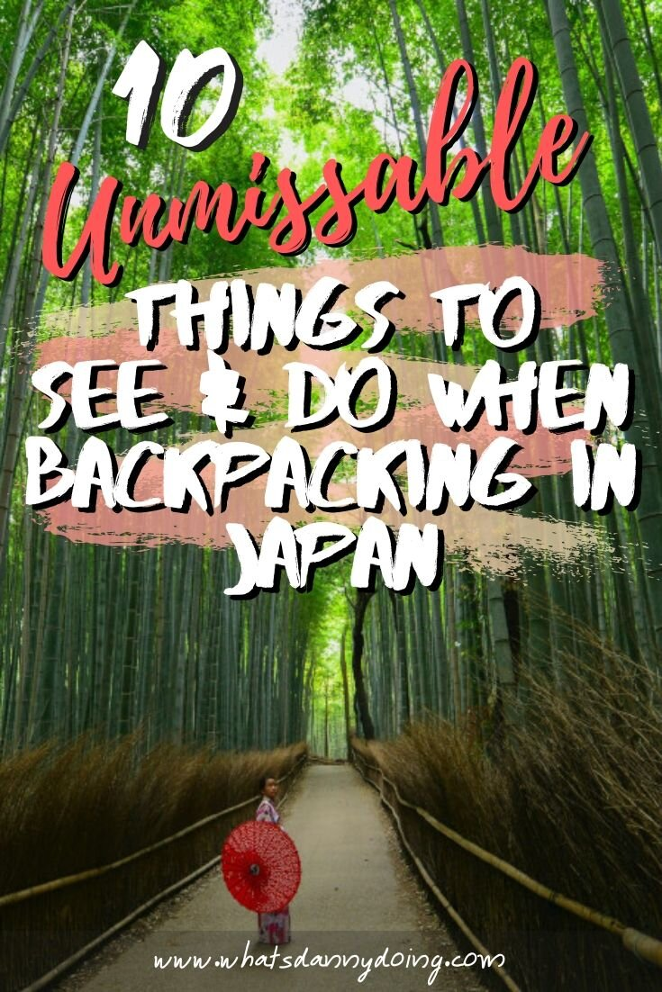 Pin this post about travelling in Japan!