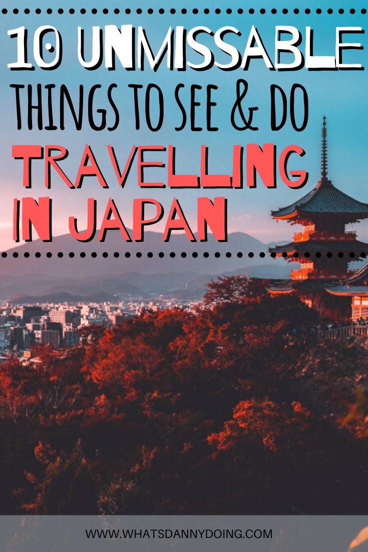 Pin this post about backpacking through Japan!
