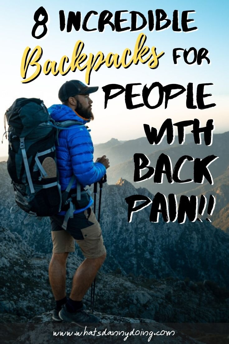 Give this post full of backpacks for back pain a pin!