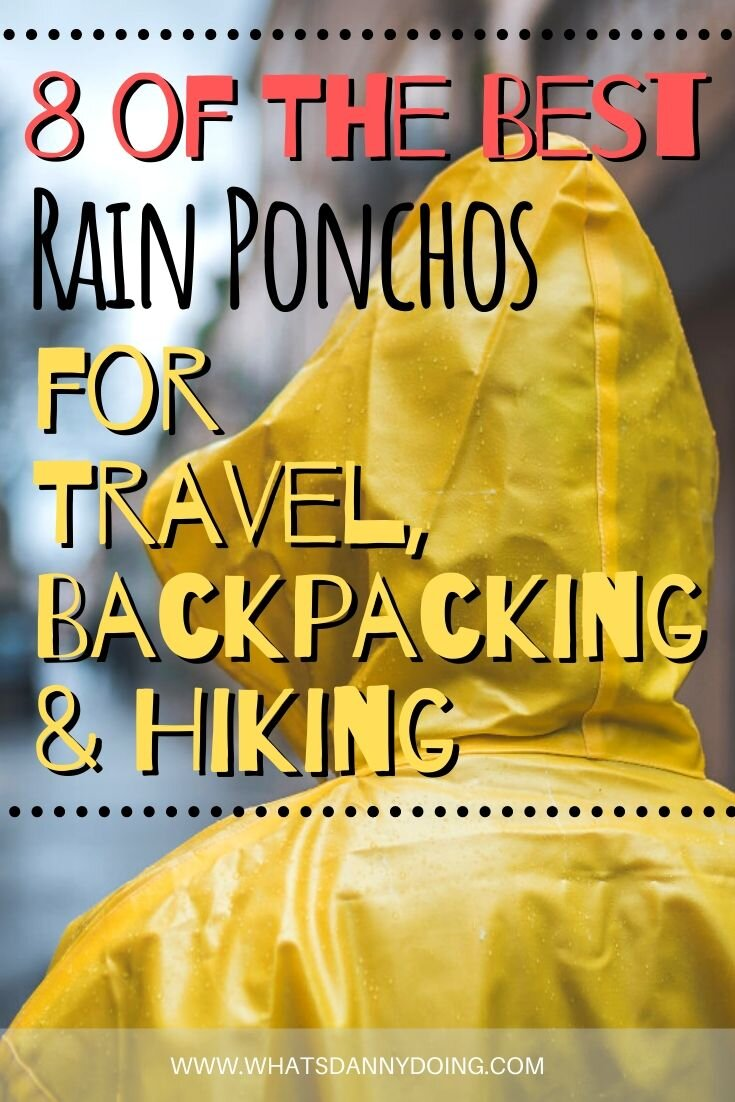 Pin this post about the best packable poncho!