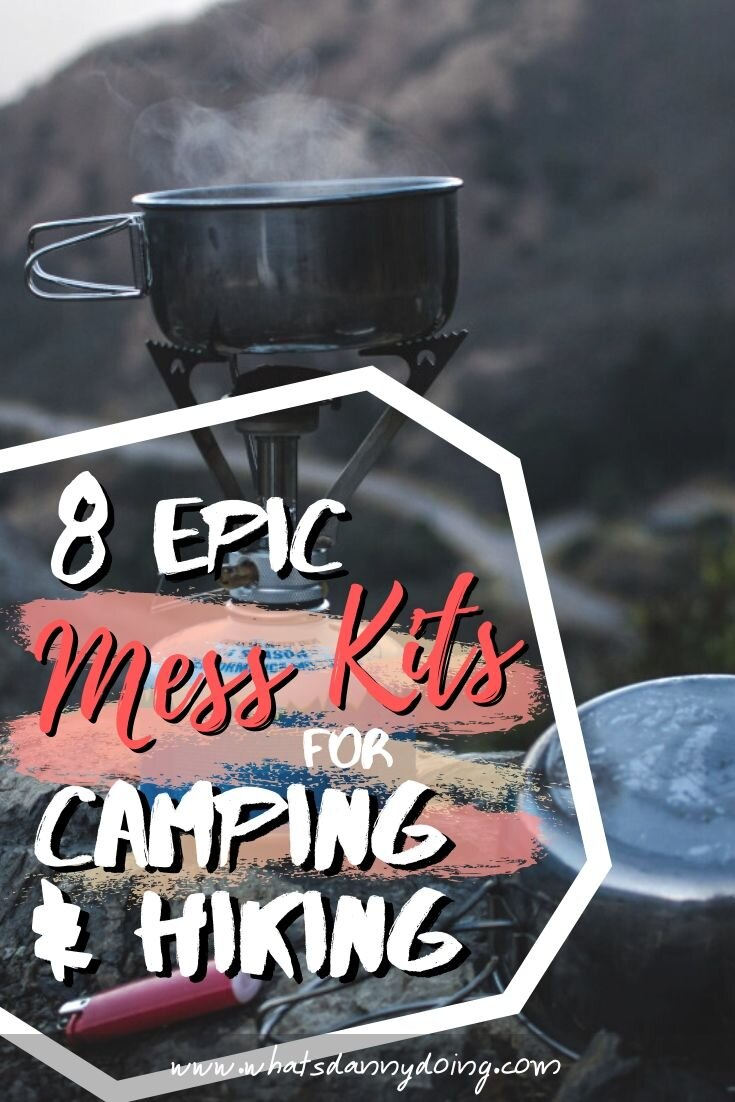 Share the best mess kit for camping on Pinterest!