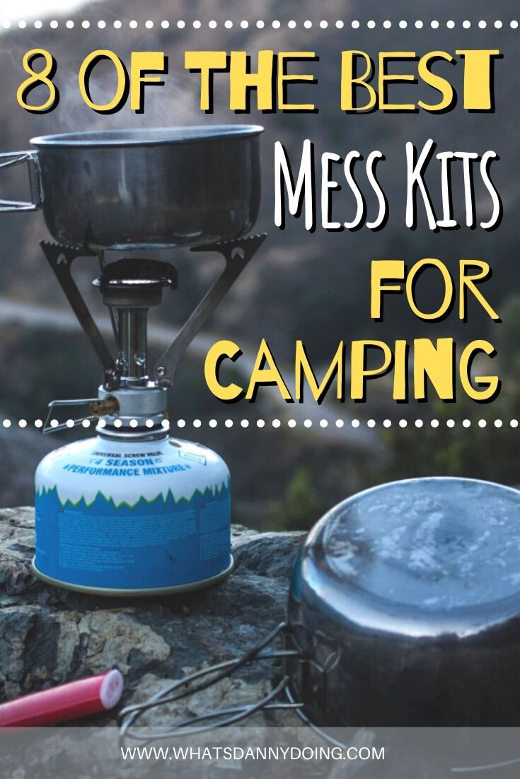 Pin this post about mess kits camping enthusiasts would love!