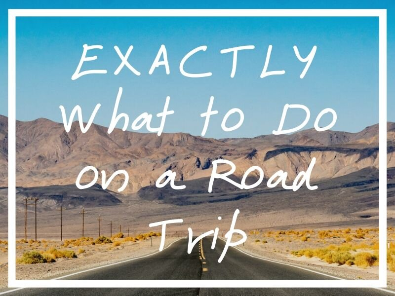 I hope these ideas on what to do on a road trip help out when you're bored in the car!