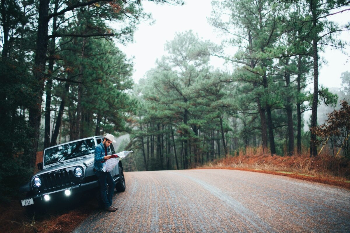 Fun road trips don't always include much planning. Still, it's worth stopping every now and again for a break and to check where you're going next!