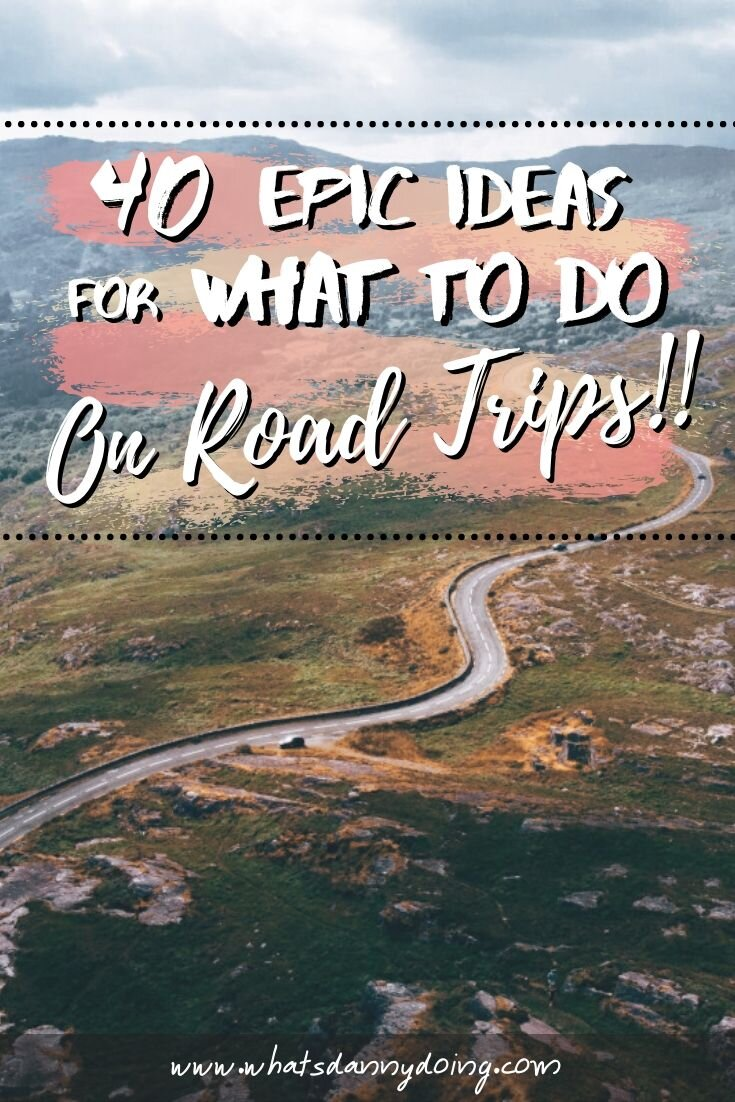 Pin these road trip things to do!