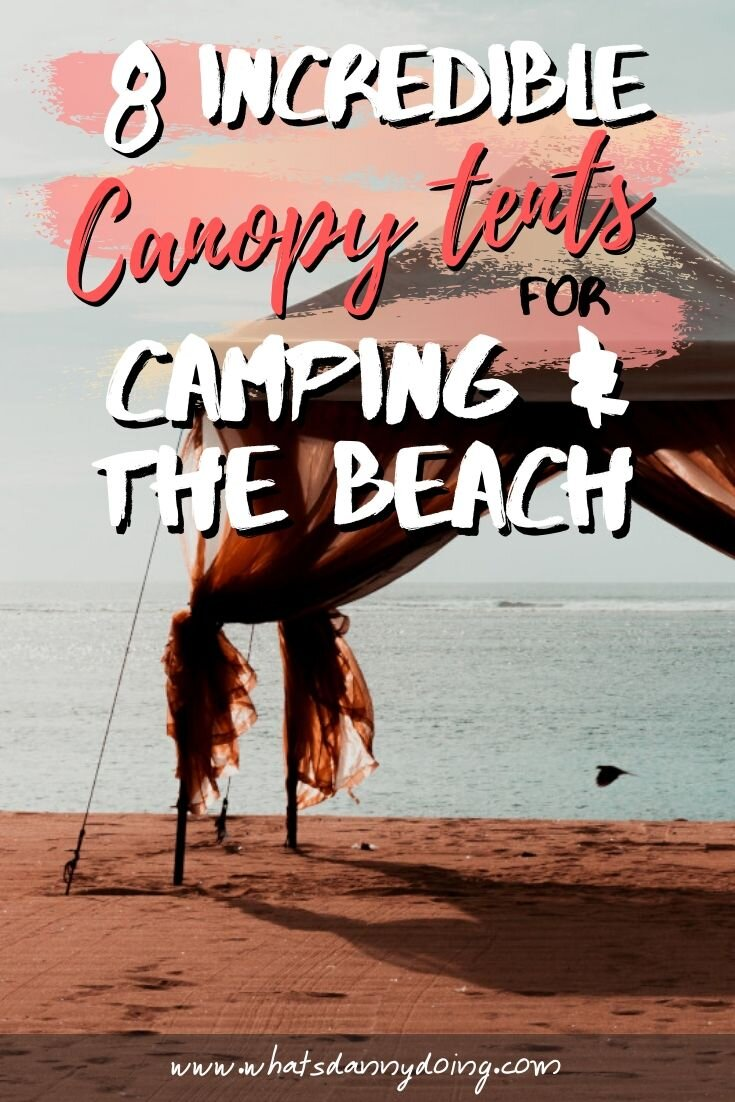 Like this post about the best canopies for camping? Pin it!